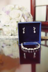 Jewelry Set in Blue Box