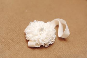 Headband with Lace Decoration