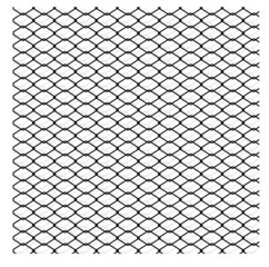 wired fence - vector