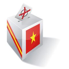 Wahlbox Vietnam