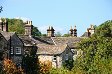 Cottage rooftops, Bakewell © Arena Photo UK