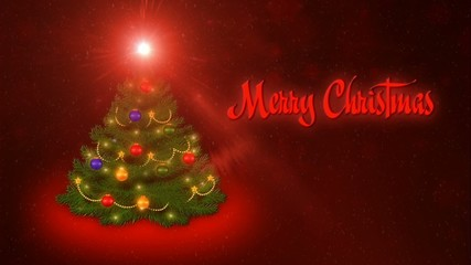 Merry Christmas - Red