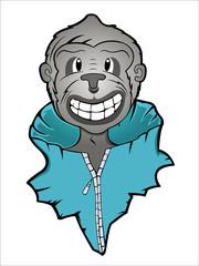 Monkey in Jacket