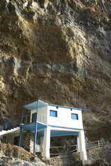 House in a natural cave. Poris de la Candelaria. Spain
