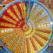 Fun Fair Carnival Luna Park moving carousel - 74422605