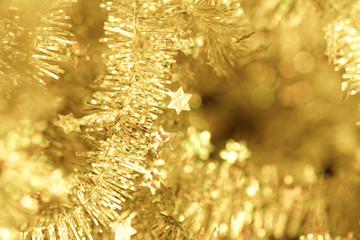 Tinsel - Christmas decoration.