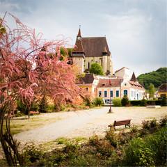 Biertan Village in transylvania Romania