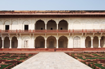 Elevation of the traditional India architecture