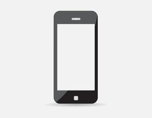 modern technology device - mobile phone mockup