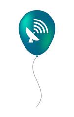 Balloon icon with an antenna