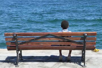 l'enfant seul