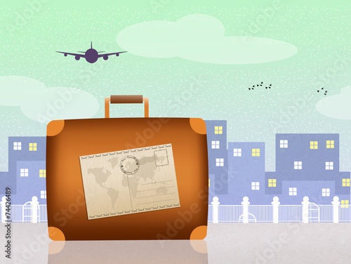 canvas print picture traveling