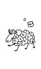 the funny lovely sheep 2