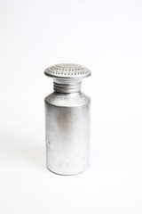 Aluminum salt shaker
