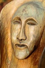 Fairy-like wooden figures from primaeval Slawic tales