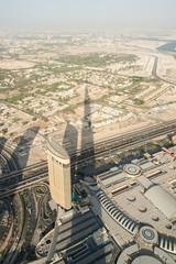 Burj Khalifa Schatten