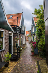 Traditional houses in Holland