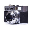 canvas print picture - Retro camera