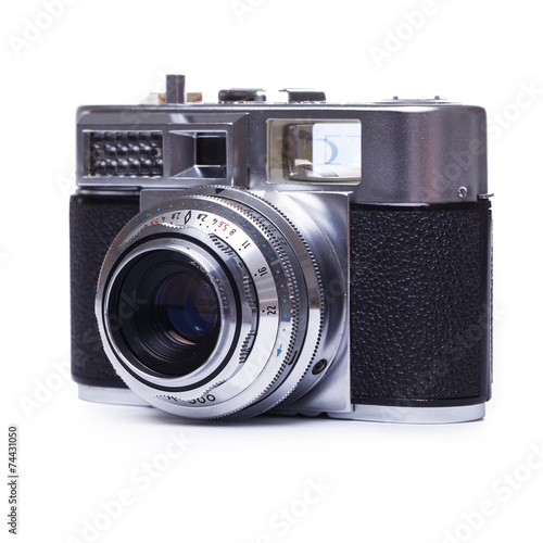 canvas print picture Retro camera