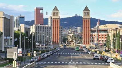Plaza de Espana with Venetian towers
