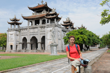 Tourist in Vietnam - Phat Diem Cathedral