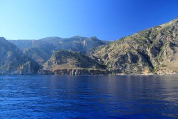 Crete landscape. Greece destination.