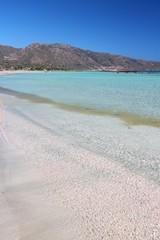 Elafonisi, Crete. Greece destination.