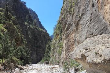Samaria Gorge, Crete, Greece