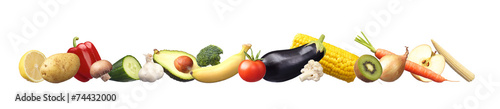 Keuken foto achterwand Verse groenten Sehr gesunde Nahrung