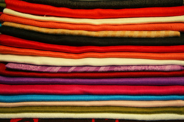 colored fabrics