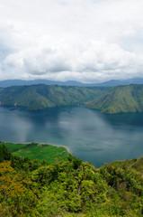 Toba lake on Sumatra