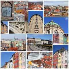 Copenhagen - photo collage