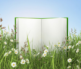 BOOK WITH NATURE