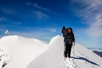 Winter Hiking,Grossvenediger