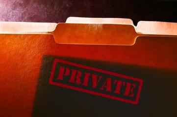 private file folders
