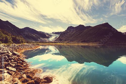 Lake in Norway - 74433407