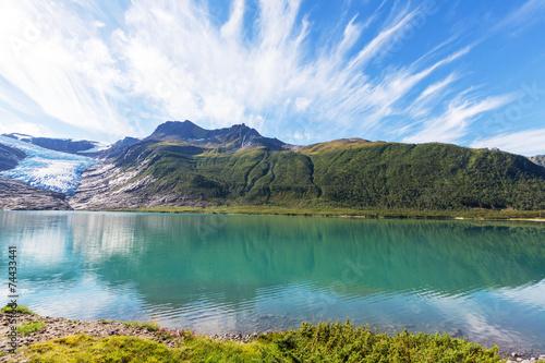 Lake in Norway - 74433441