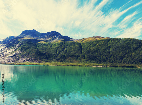 Lake in Norway - 74433469