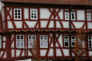 Fachwerkhaus in Eberbach