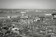 Liverpool. Black white photo.