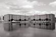 Albert Dock, Liverpool. Black white photo.