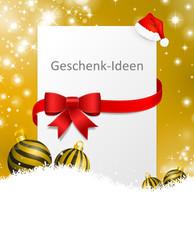 Weihnachten Geschenkidee