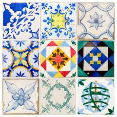antique tiles of  Lisbon