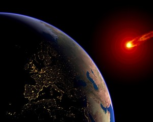 Meteor Asteroid Europe Earth
