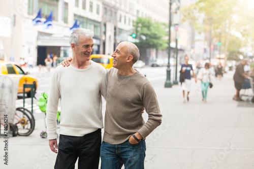 Walking through new york city as a homosexual