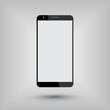 big smartphone mockup vector illustration, eps10