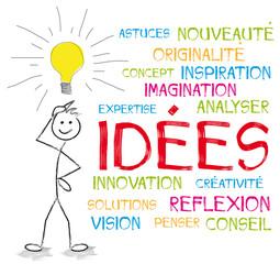 nuage de mots idées