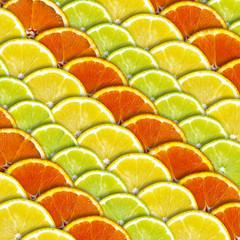Lemon and Orange Background