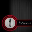 canvas print picture - Restaurant Menu Design