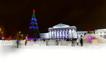 Large Christmas tree